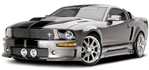 Ford Mustang with Eleanor Body Kit