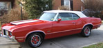 Oldsmobile Cutlass 442 convertible - Not your fathers oldsmobile