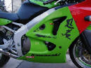 2001 Kawasaki ZX-6R Close up on graphics and side - Brandon L. - coolasscars.com