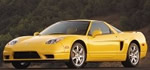 Acura - NSX, in Yellow paint