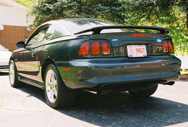Left Rear Angle 1998 Mustang Gt Super Cool Car Beautiful Interior And Exterior